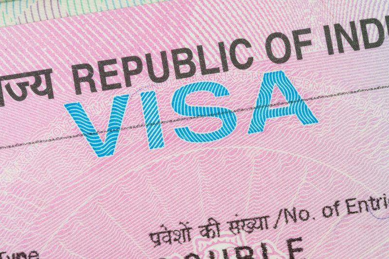 visa inde dans le passeport