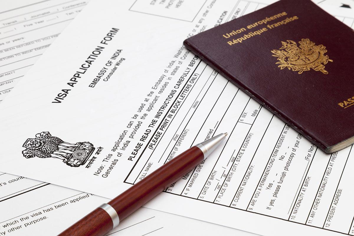 document à fournir visa inde